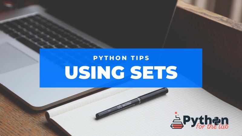 Python tips sets