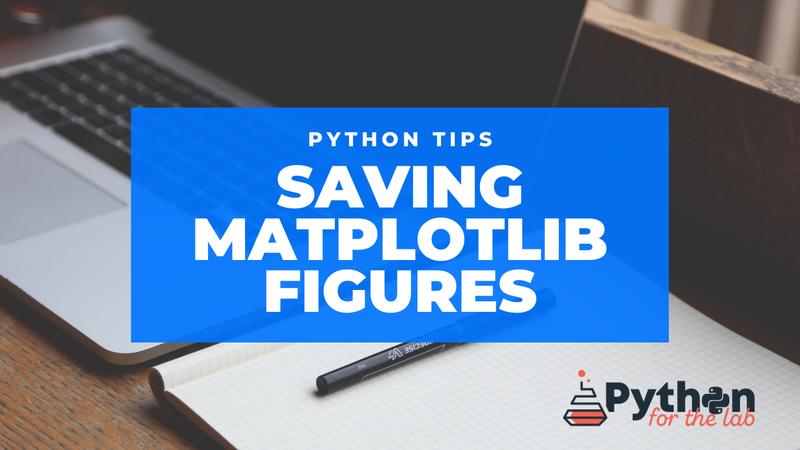 Python Tips Matplotlib Saving