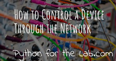 How to control a device through the network