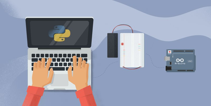 How to control an Arduino from the computer using Python