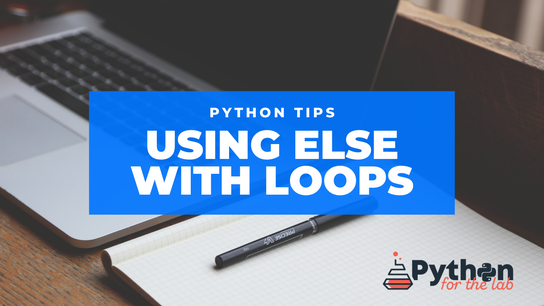 Using else with loops
